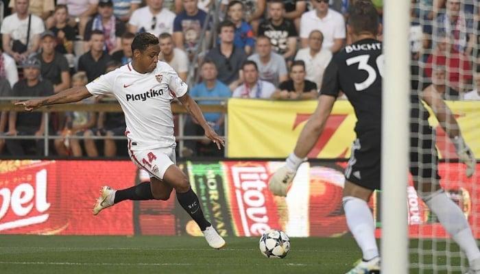 Muriel anotó en la victoria del Sevilla