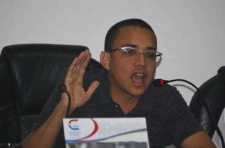 """""""Invito al Gobierno a sentarse en una mesa de diálogo con los estudiantes de la Unicor"""": concejal José Wberth"""