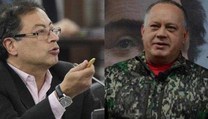 """""""No me importa el apoyo de Maduro"""": Petro sobre señalamientos de Cabello"""