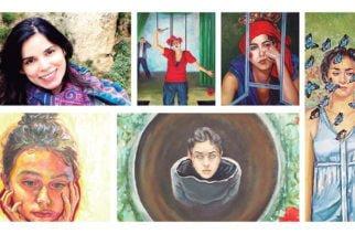 La Artista colombiana Pilar Bedoya, Traspasando fronteras