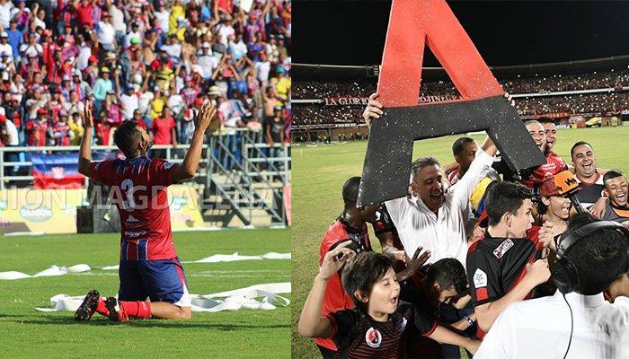 Unión Magdalena y Cúcuta Deportivo son los nuevos inquilinos de la A
