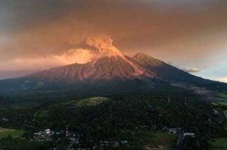 Volcán de fuego en Guatemala entró nuevamente en actividad