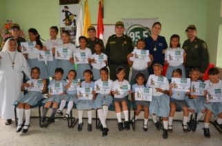 Policía clausura Programa Escolarizado de Prevención al Consumo de Sustancias Psicoactivas