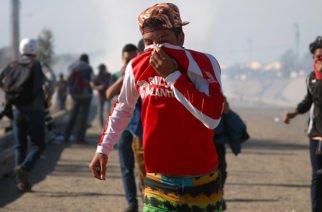 Zona de guerra en frontera México-EE.UU por caravana de migrantes