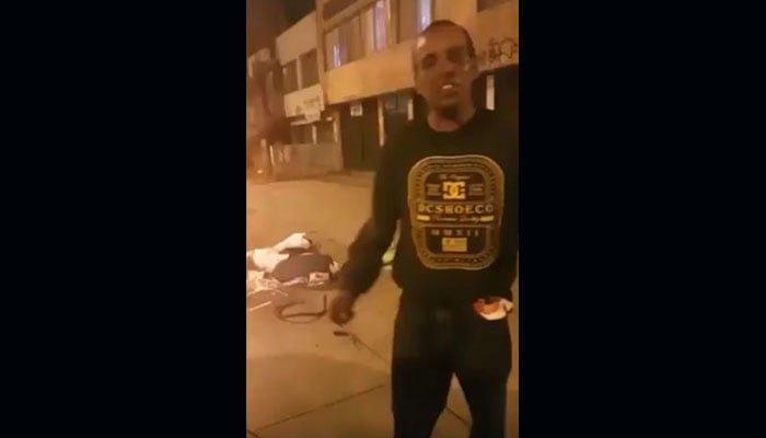 Denunció una estafa a la Policía porque le vendieron harina por coca (VIDEO)