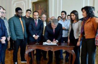 Gobierno y estudiantes llegan finalmente a un acuerdo: $4.5 billones en cuatro años
