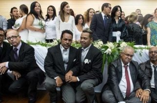 """El """"efecto balsonaro"""" apresura bodas homosexuales en Brasil"""