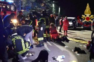 Estampida en concierto deja más de 120 heridos y seis muertos en Italia