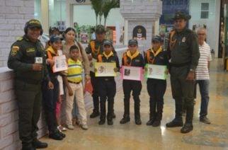 Policía Metropolitana de Montería lanzó campaña «No a la pólvora, enciende sonrisas»
