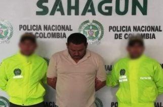 En Córdoba, Policía captura un hombre por el delito de Homicidio en grado de tentativa