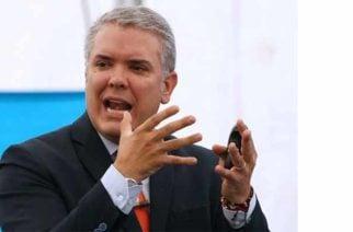Es 'nuestro deber moral que Colombia esté libre de drogas y de narcotráfico': Presidente Duque