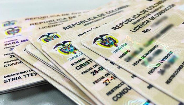 Aseguradas 12 personas señaladas de falsificar licencias de conducción en la costa caribe