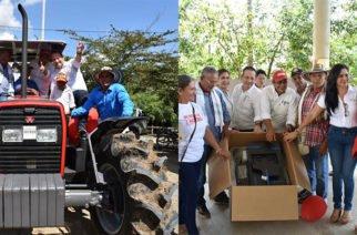 Más de 3 mil habitantes de la zona rural de Montería se beneficiarán con tractor y mobiliario escolar