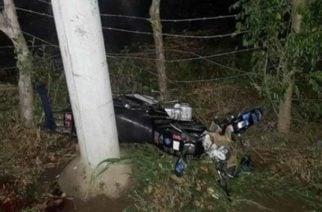 Motociclista murió luego de chocar contra poste en Momil,Córdoba