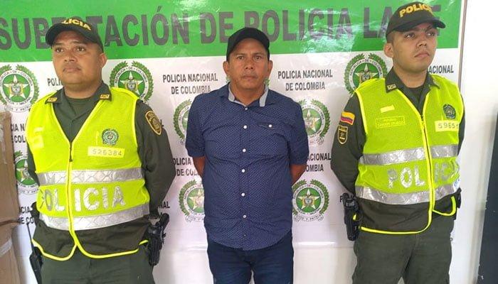 Policía Córdoba capturó un hombre por concierto para delinquir