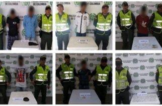 Policía evita distribución de 490 dosis de estupefacientes en Córdoba