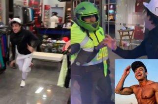 Vídeo: Reconocido actor quedó en manos de la Policía mientras hacía reto viral para Instagram