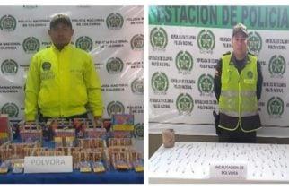 Policía de Córdoba incautó pólvora en Chinú y Buenavista