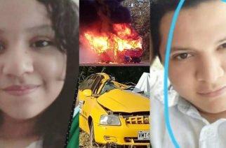 Estudiantes del  Colegio Gimnasio Vallegrande y su madre mueren en tragedia de tránsito