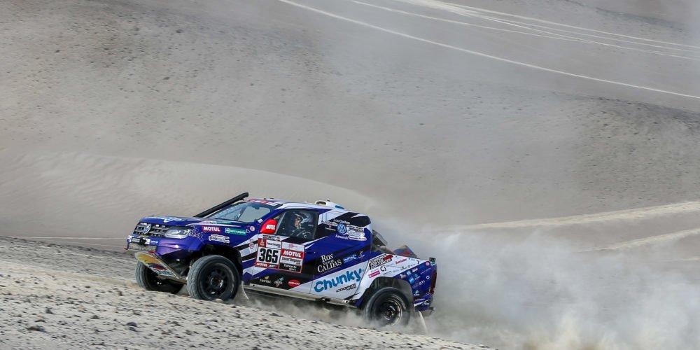 El equipo colombiano MS2 Racing cumplió con el segundo día en el Dakar 2019