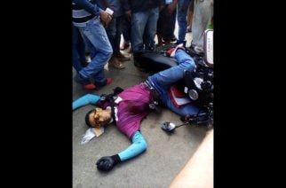 Lo mataron mientras iba en moto en Montelíbano
