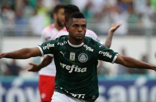 Borja marca su primer gol con Palmeiras en el 2019