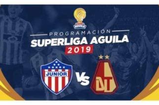 Superliga Junior vs Tolima se jugará el 23 y 27 de enero