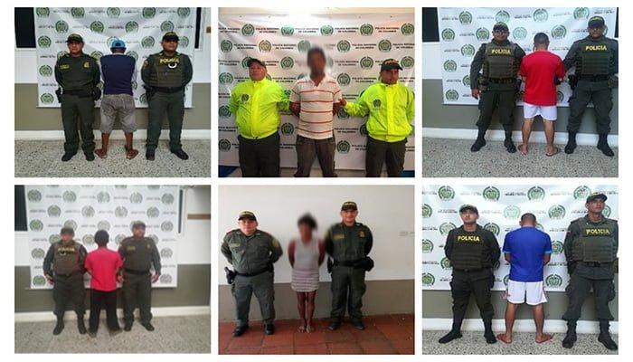 Capturadas seis personas que tenían orden judicial en Córdoba