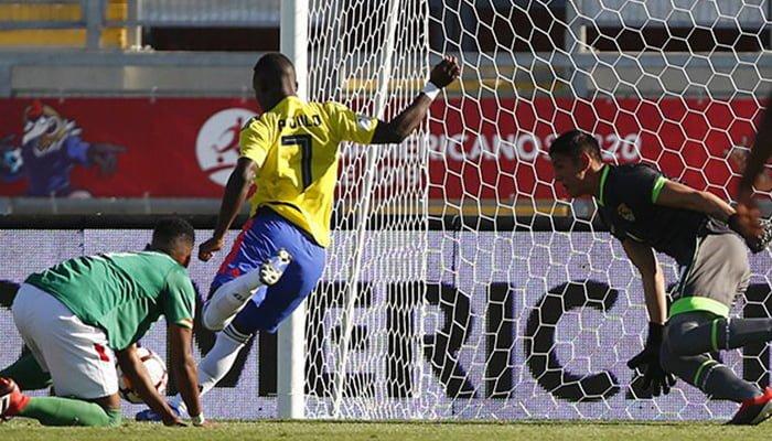 Colombia ganó y salió del sótano del grupo A del Sudamericano Sub 20