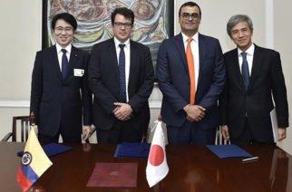 Colombia y Japón firman acuerdo para impulsar la solución de problemas sociales mediante las TIC