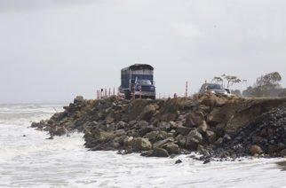 Contratarán estudio para conocer solución definitiva de erosión en Los Córdobas