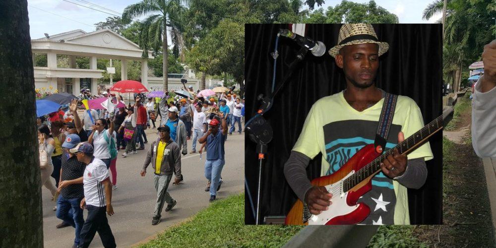 Montelíbano marchará como rechazo al asesinato de joven músico