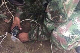 Desactivado cilindro bomba que iba a atentar contra la Policía