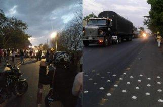 Habitantes de Buenavista no llegaron a ningún acuerdo con la ANI y volvieron a bloquear la vía