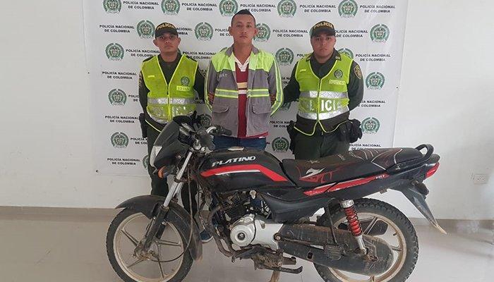 En Puerto Libertador capturan coordinador de extorsiones, microtráfico y homicidios del Clan del Golfo