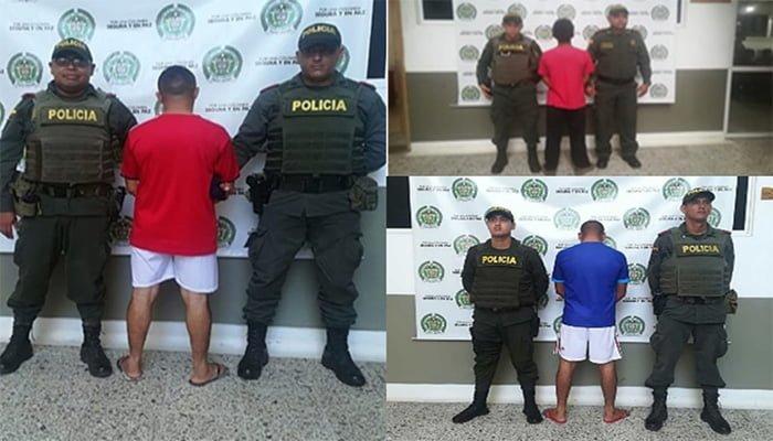 En requisas 3 capturados por delitos sexuales en Lorica