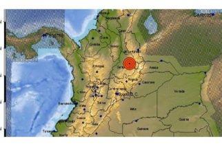 Fuerte temblor con epicentro en Santander se sintió en varias zonas del país