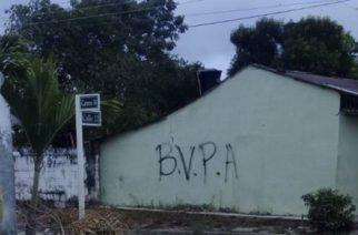 Habrían pintado casas con siglas de grupo armado en La Apartada- Córdoba
