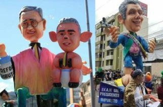 ¿Libre expresión o irrespeto? Polémica por muñecos alusivos a Duque y Uribe en desfile de Pasto