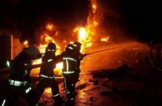 Incendio en estación de servicio de Montería sigue siendo materia de investigación