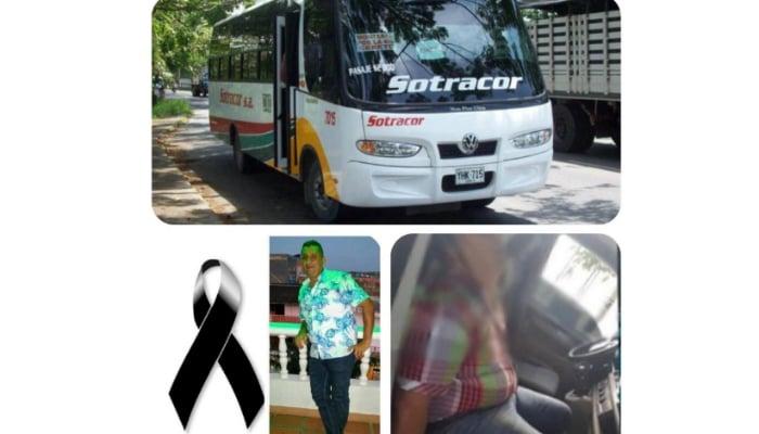 Pasajero murió infartado en un Sotracor que iba entre Montelíbano y Montería