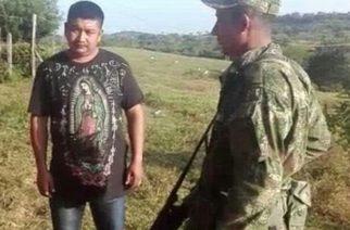 Capturan en Tarazá a alias 'Ratón', presunto cabelcilla de 'Los Carrapos'