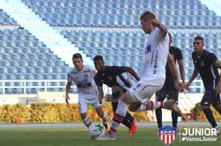 Junior jugó doble partido amistoso contra Barranquilla FC en el Metropolitano