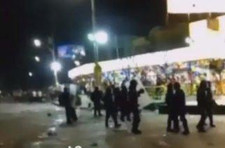 Vídeo: Lectura del Bando en Barranquilla terminó en enfrentamiento con el ESMAD