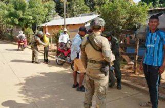 Llegó Comando de Operaciones Especiales de la Policía a San José de Uré