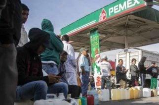México atraviesa por una de las mayores crisis de gasolina de su historia