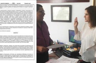 MinInterior designó a Sandra Devia como gobernadora (e) de Córdoba