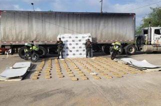 Policía incautó 145 kilos de marihuana en vía Caucasia-Planeta