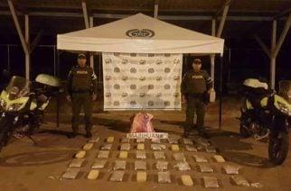 Policía incauta 40 kilos de 'cripy' en vía Montería-Planeta