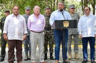 Presidente Duque confirma captura de terroristas del ELN